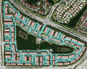 Sealcoating Diagram for HOA by Gold Coast Sealcoat, Dania Beach, FL