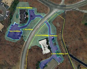 Full Service Commercial Diagram by Monello Landscape Industries, Wayne, NJ