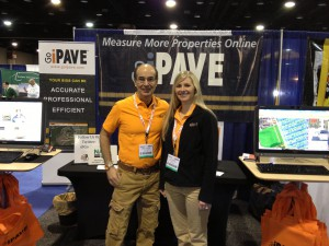 Alle and Chris at Go iPave Booth NPE 2103 2